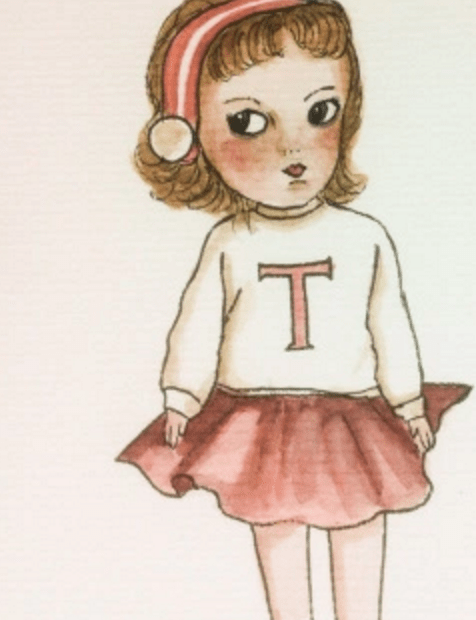 A girl's dolls
