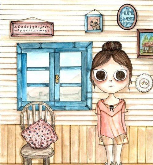 Oysho illustration…