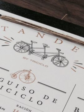 TANDEM, by Triciclo